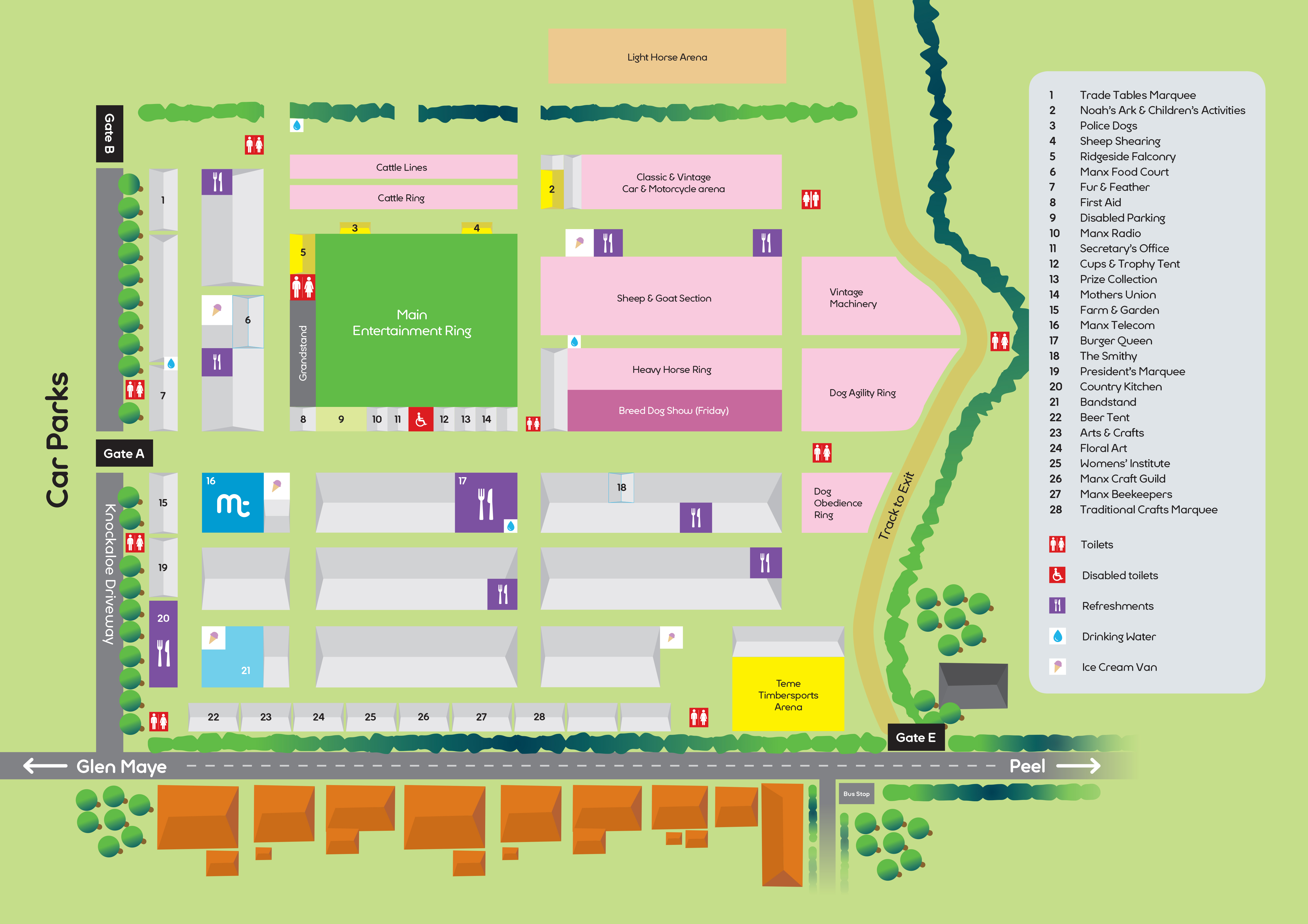 Timetable & Map now available
